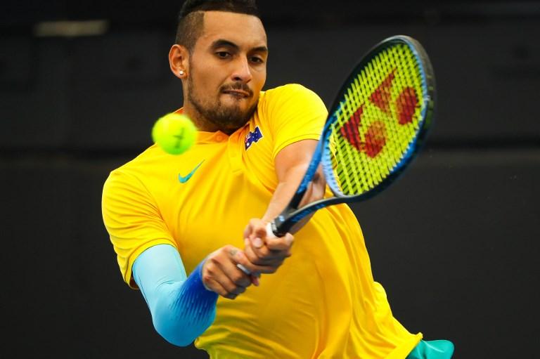 ATP Cup. Kyrgios lepszy od Tsitsipasa, Bułgaria zaprzepaściła szansę