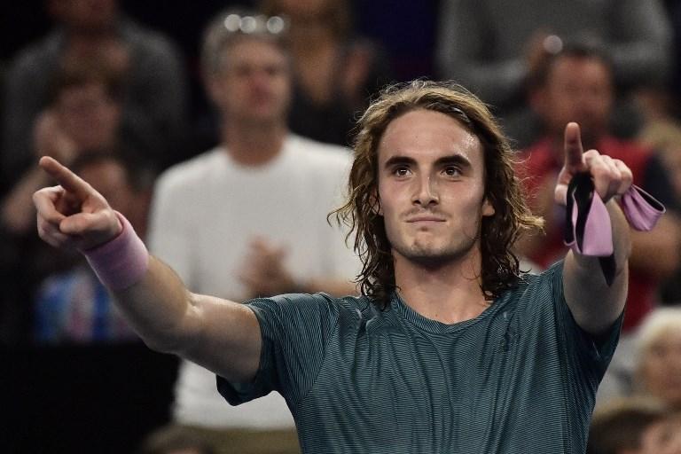 Tsitsipas zapisze się w historii tenisa, choć przegrał z Kyrgiosem
