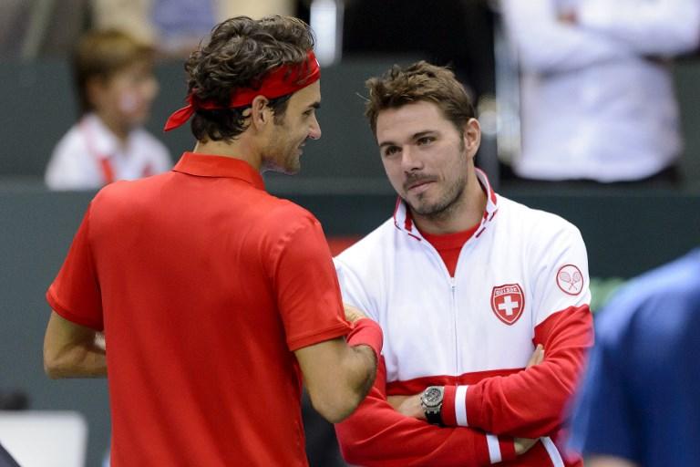 Federer i Wawrinka z awansem do trzeciej rundy