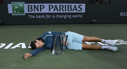 Indian Wells. Federer zatrzymany! Największy sukces w karierze Thiema