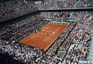 Roland Garros. Mniej kibiców obejrzy zmagania z trybun