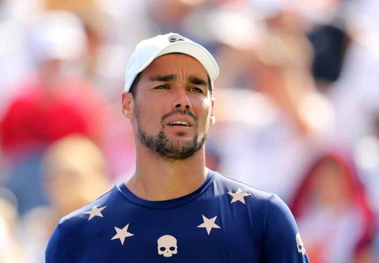 Fognini wraca do treningów a Barazzutti odradza mu występ na US Open