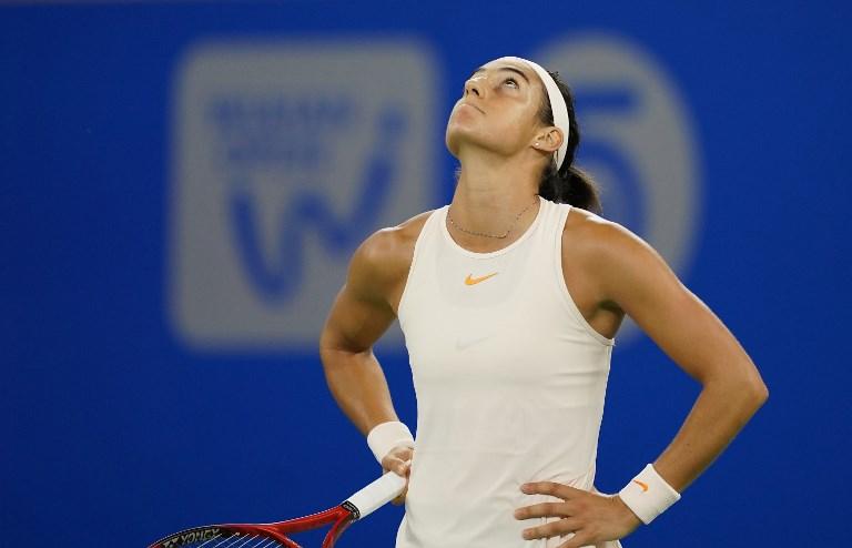 Caroline Garcia trenuje w akademii Rafaela Nadala