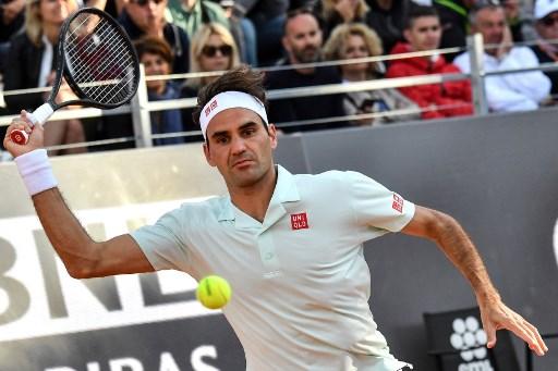 Rzym. Kolejny dreszczowiec Federera