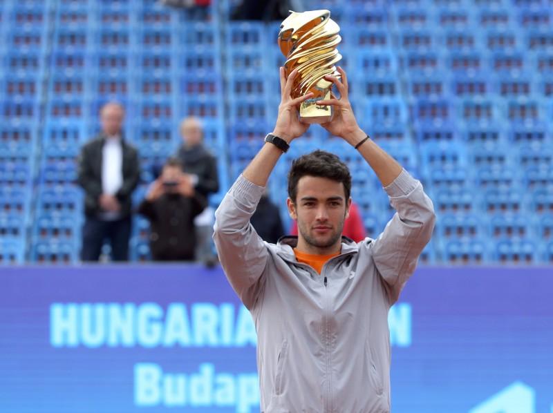 Budapeszt. Drugi tytuł Berrettiniego