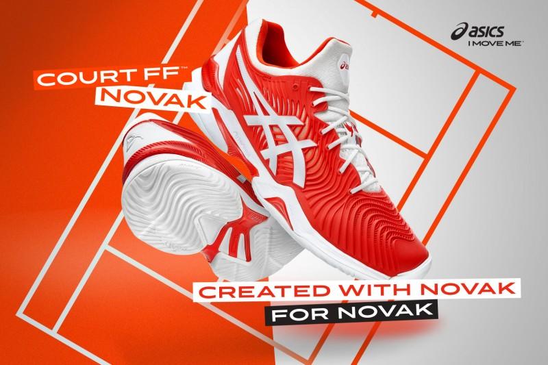 Wygrywaj nawet stracone piłki w butach tenisowych COURT FF NOVAK