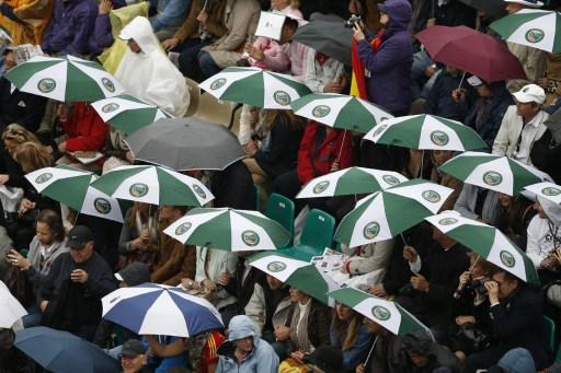 Rzym. Pogoda pokrzyżowała plany organizatorów