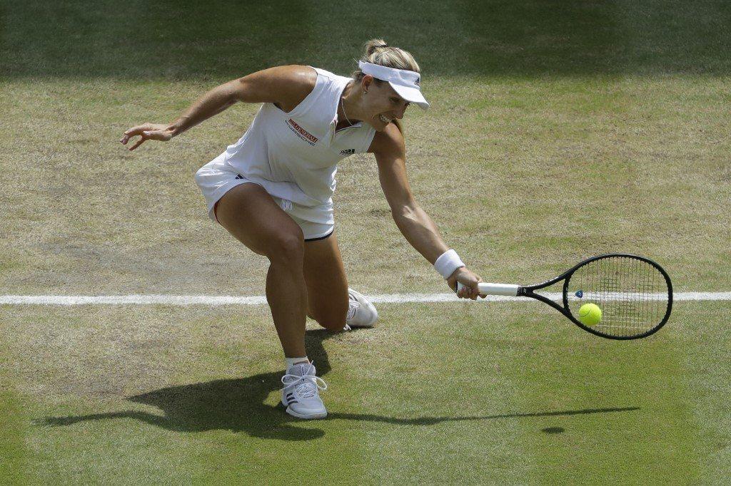 Kerber górą w pojedynku mistrzyń Wimbledonu
