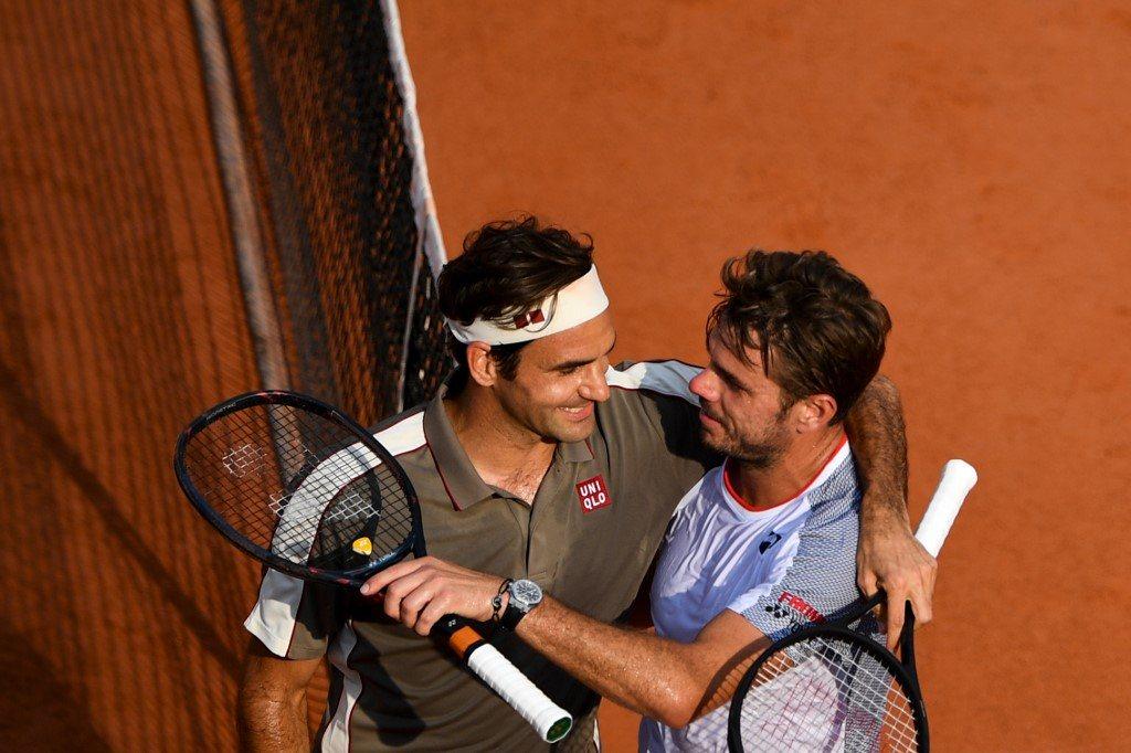 """Federer """"pożyczył"""" Wawrince trenera od przygotowania fizycznego"""