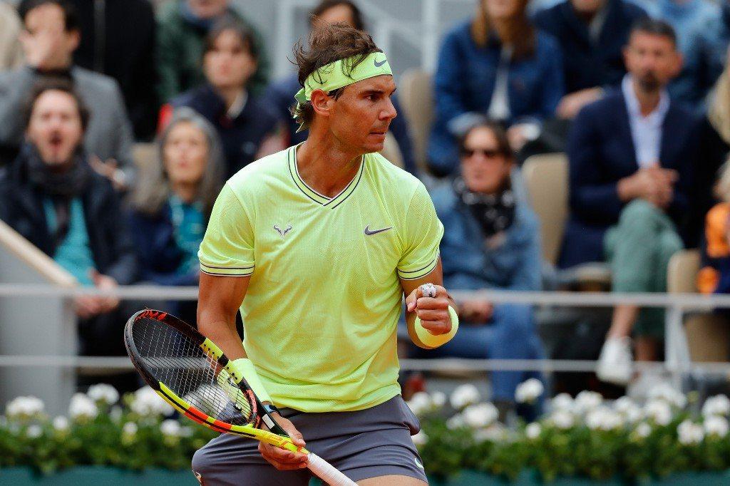 Federer nie sprostał Nadalowi