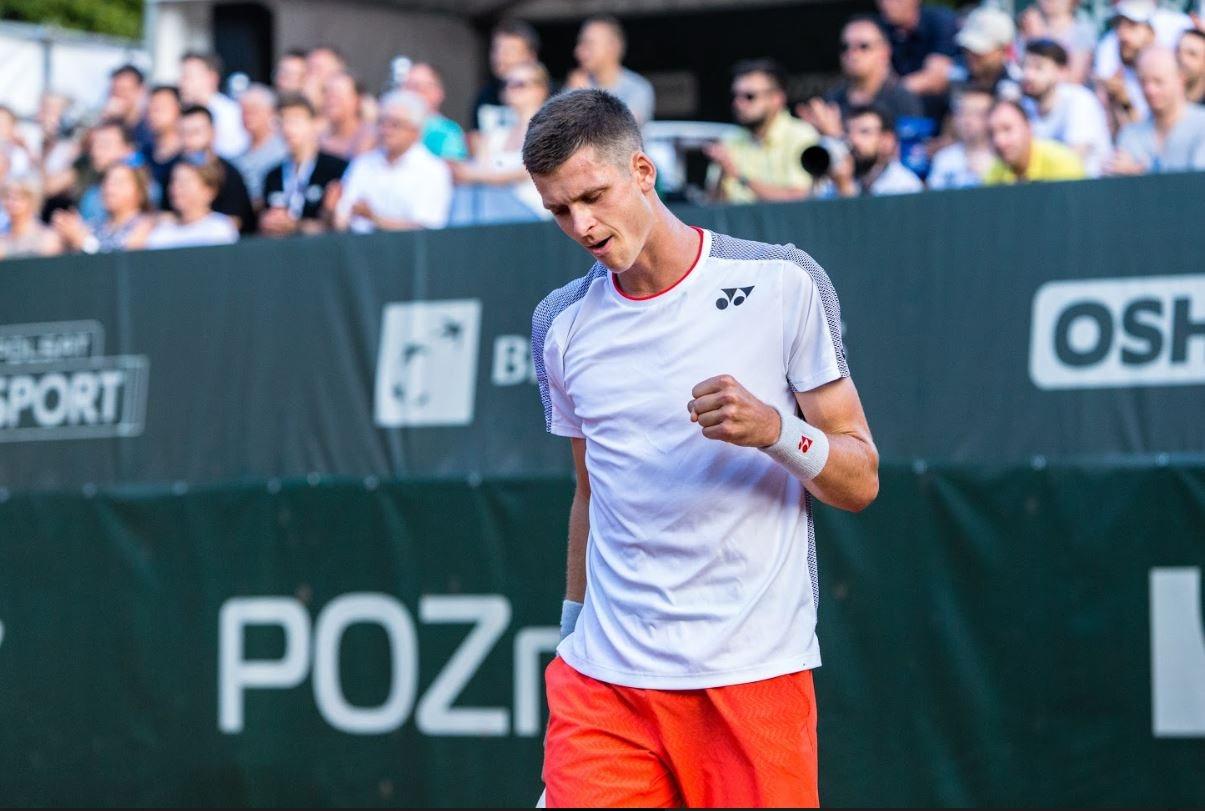 Hurkacz zagra w deblu ze zwycięzcą Wimbledonu
