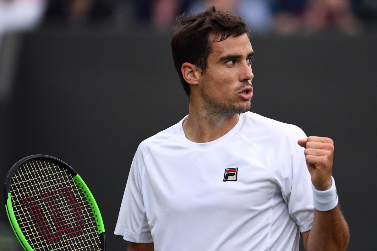 Pella pogromcą finalistów, ekspresowe zwycięstwo Federera