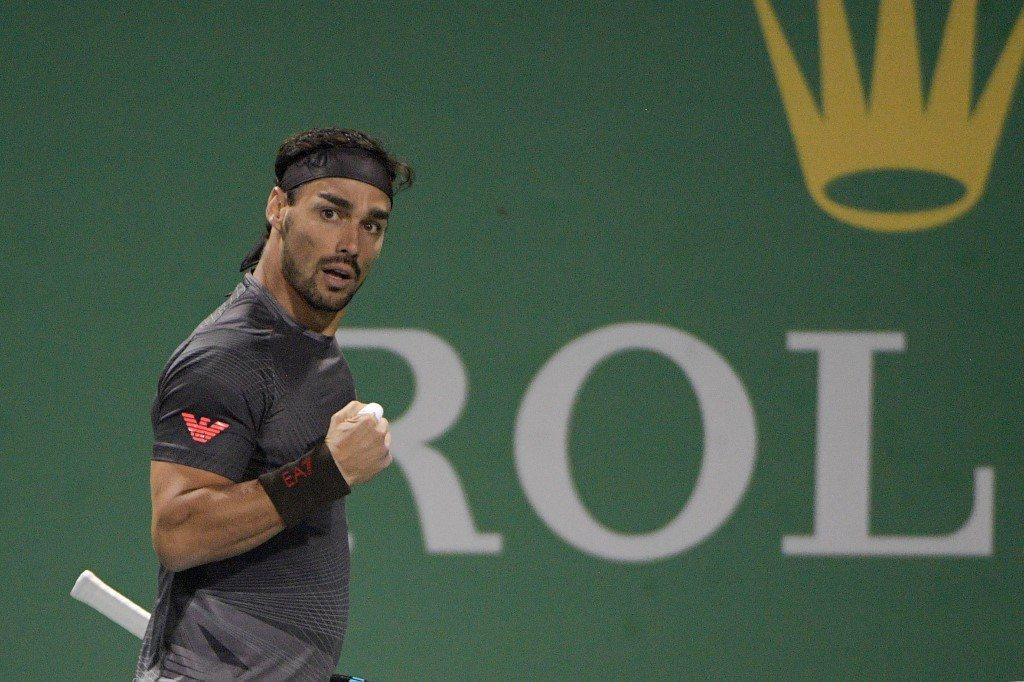 Fognini lepszy od Murray'a po tenisowym maratonie