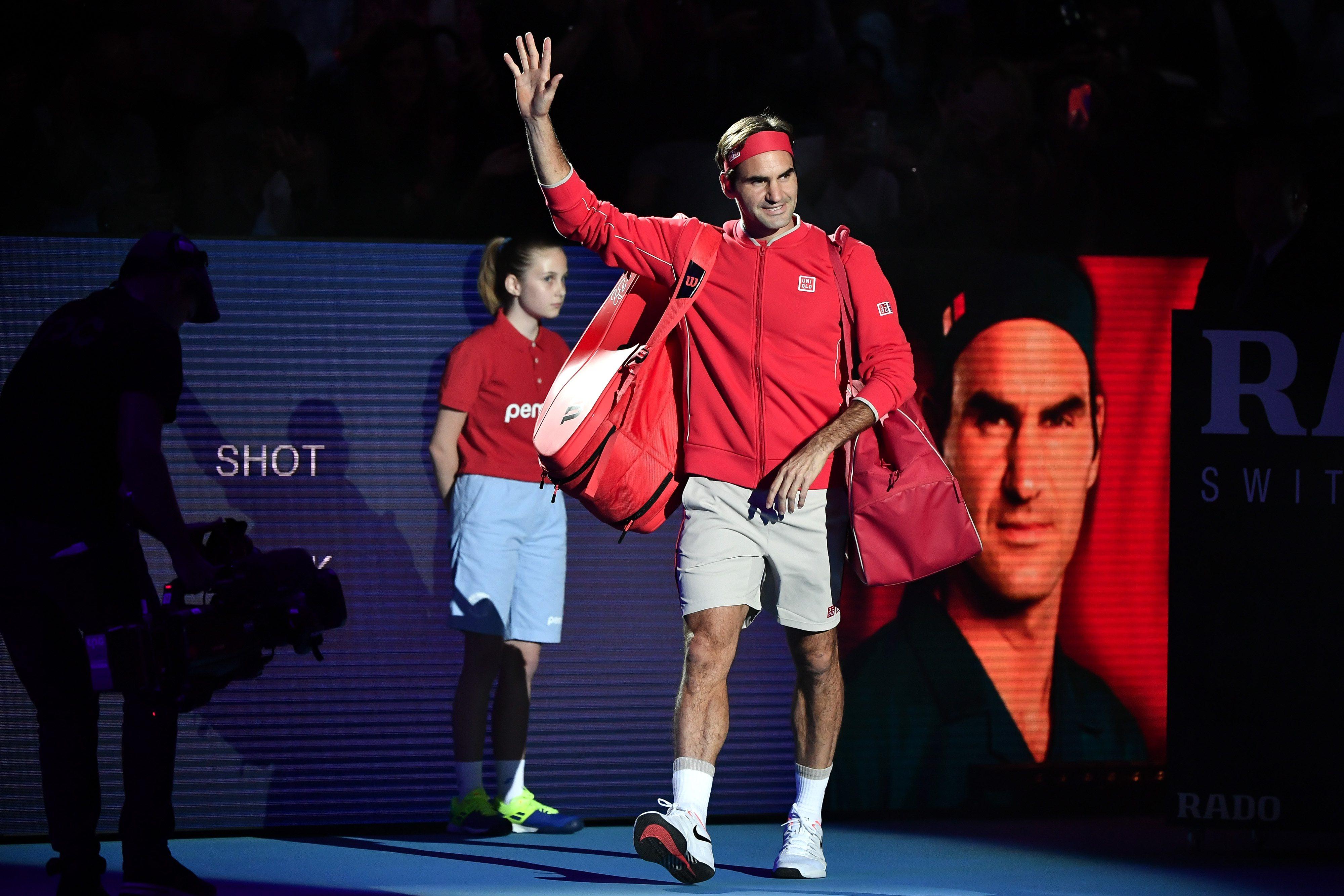 Fani numizmatyki i Federera w euforii