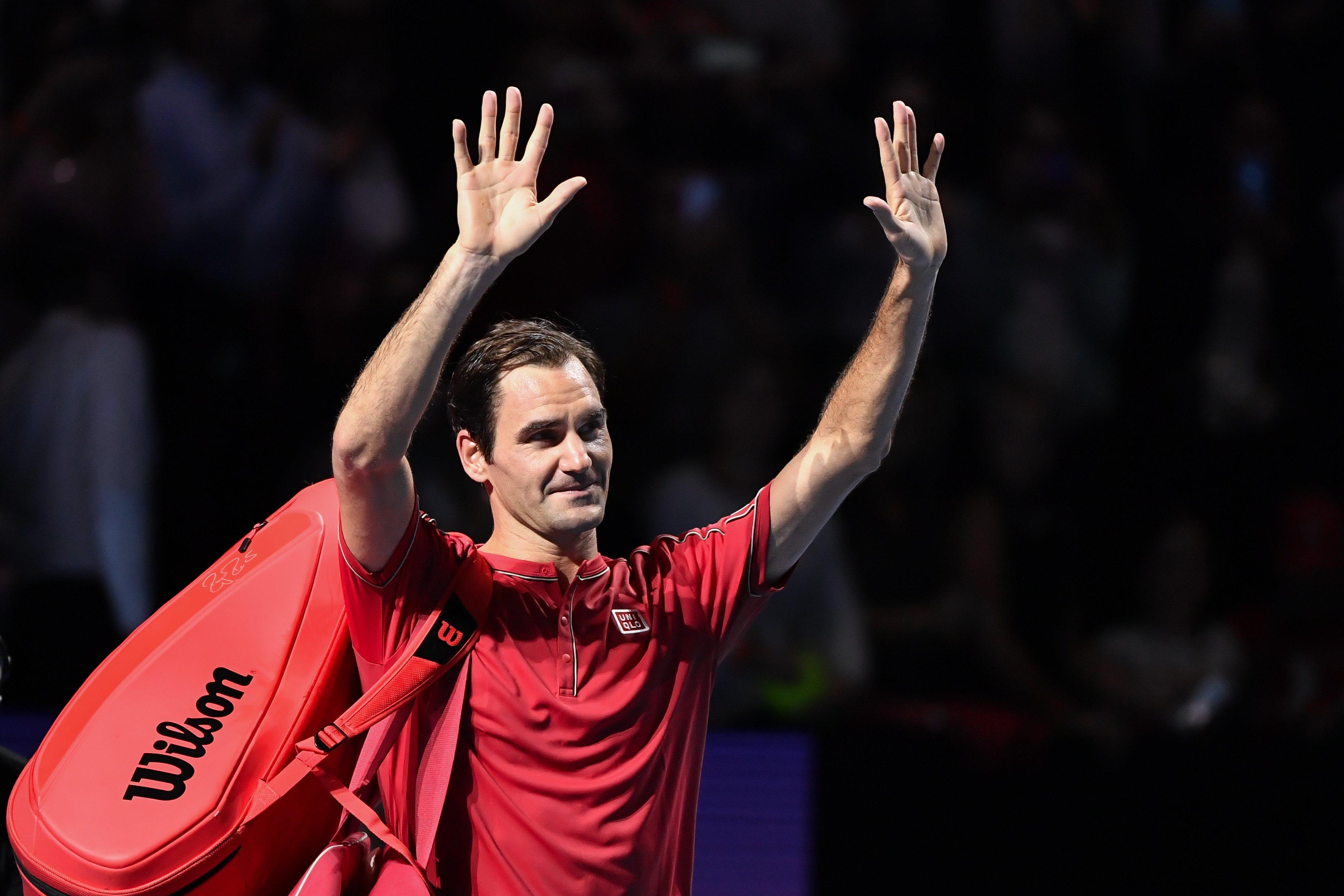 Federer: Rehabilitacja kolana przebiega bardzo dobrze, bez komplikacji