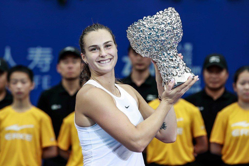 """Sabałenka najlepsza w """"małych"""" mistrzostwach WTA"""