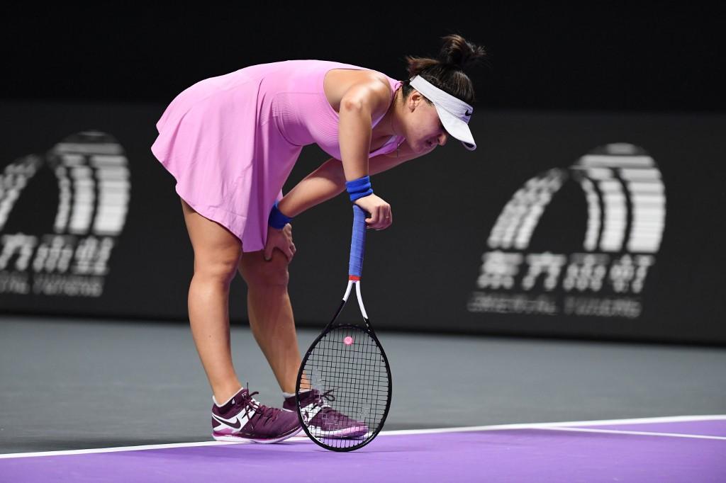 WTA Finals. Dramat Andreescu!