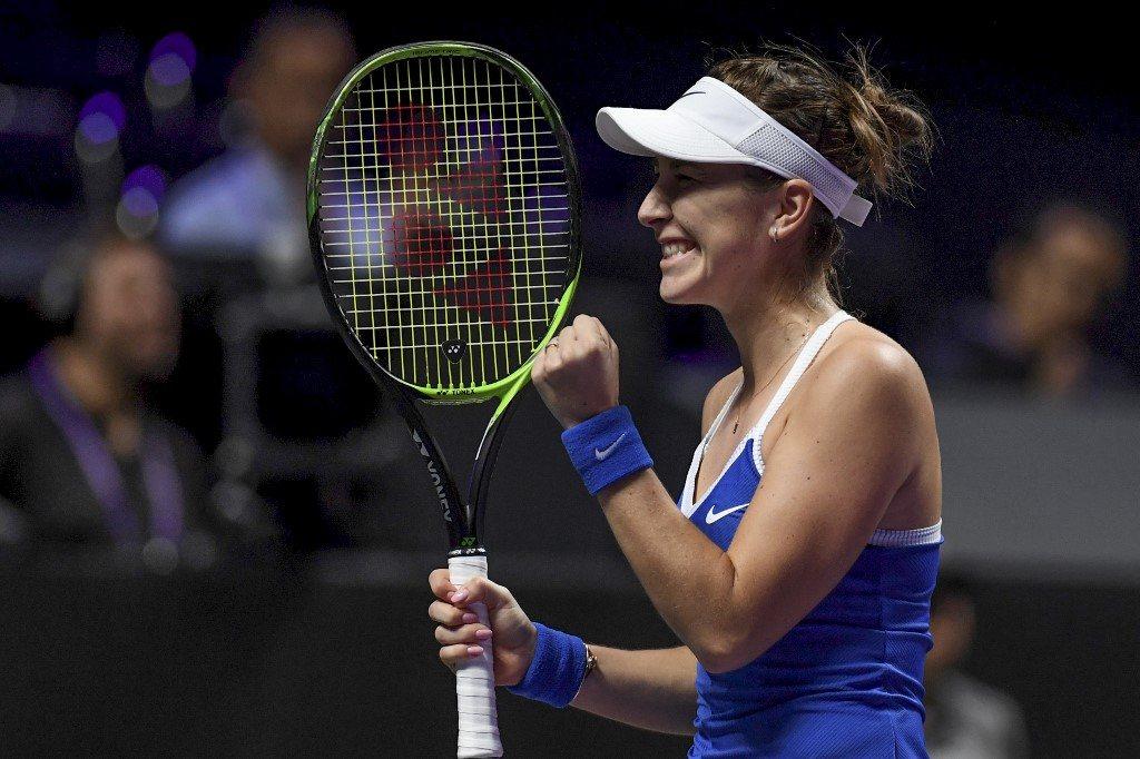 WTA Finals. Premierowe zwycięstwo Bencić