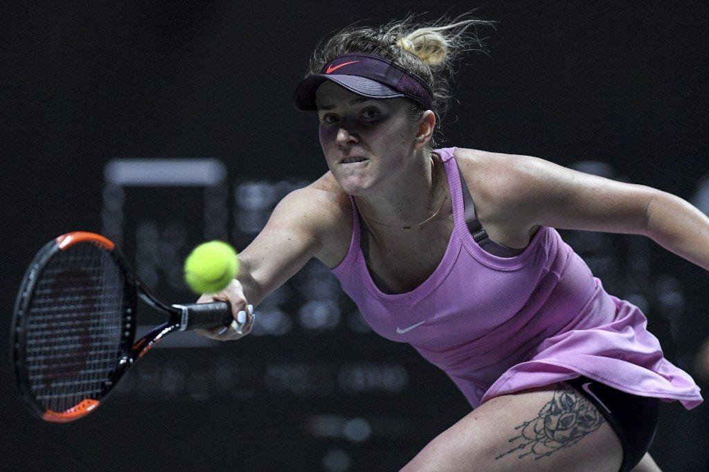 WTA Finals. Switolina pierwszą finalistką