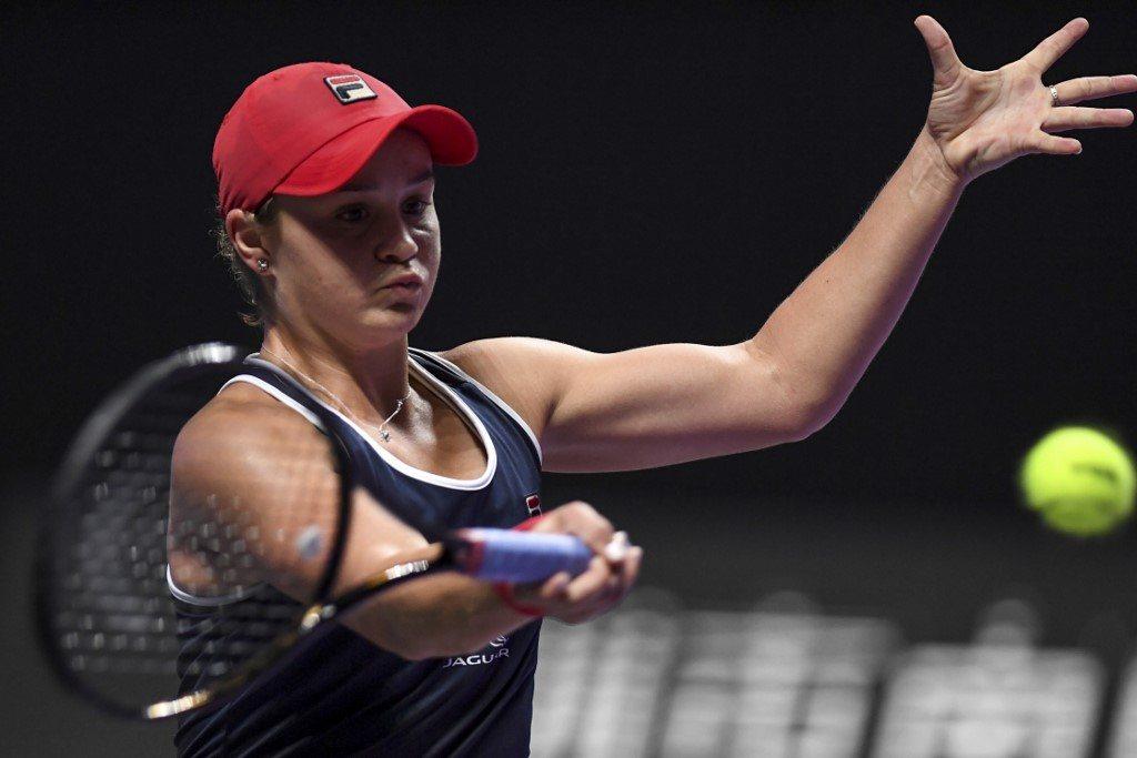 WTA Finals. Barty rozpracowała Pliszkovą