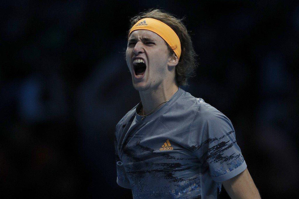 ATP Finals. Zverev uzupełnił grono półfinalistów