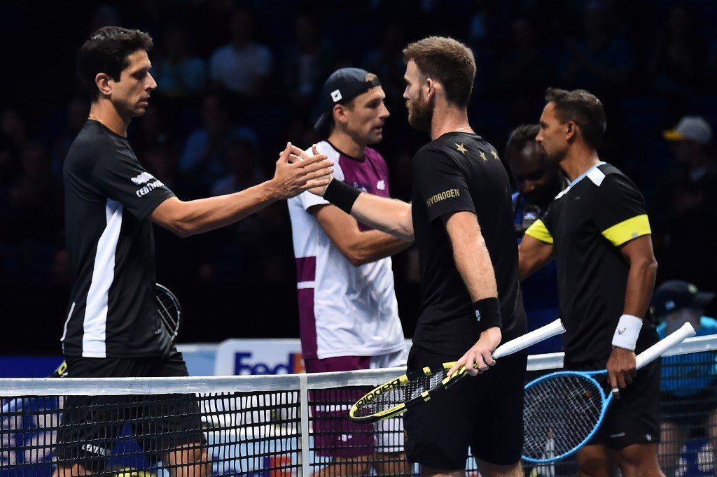 ATP Finals. Kubot i Melo z pierwszą porażką