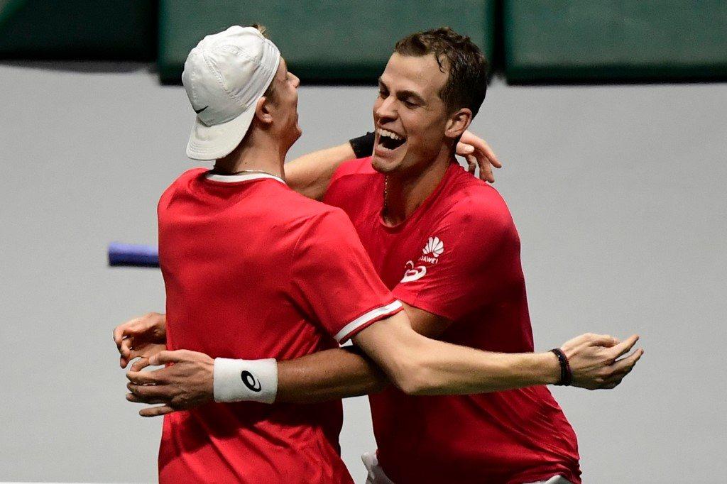 Puchar Davisa. Pospisil poprowadził Kanadę do półfinału
