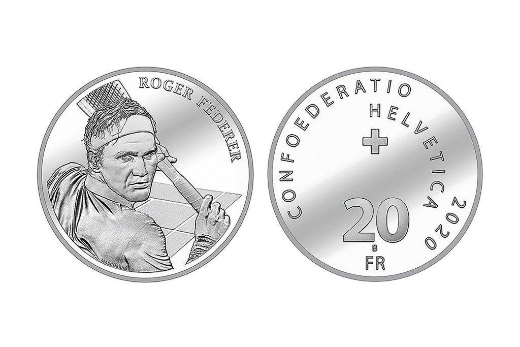 Ponad 30 tysięcy monet z Federerem wyprzedane!