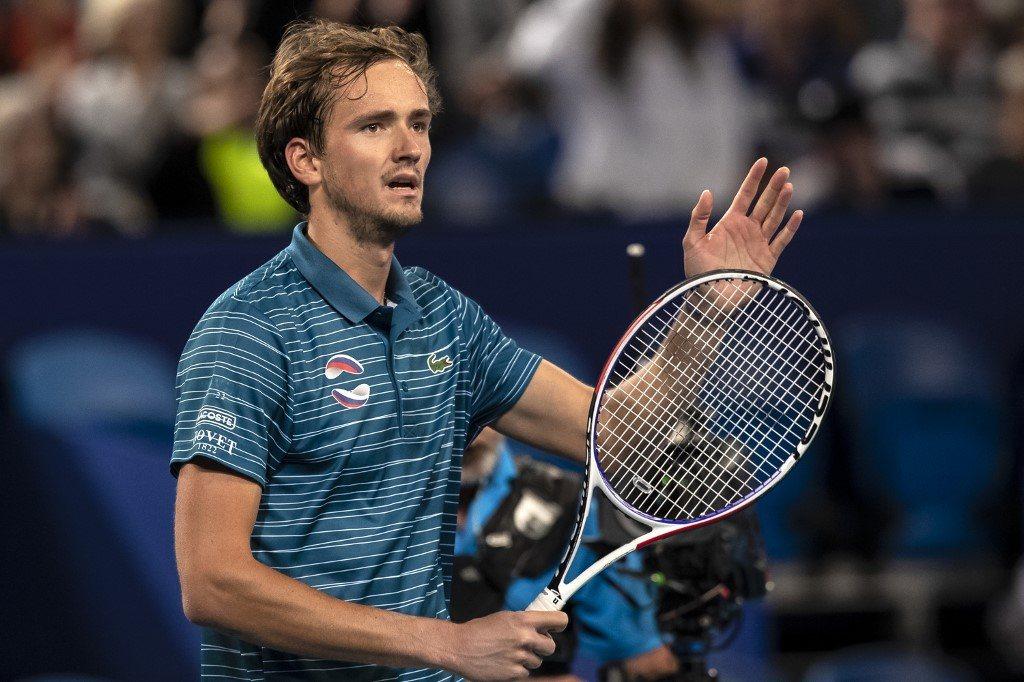 ATP Finals. Miedwiediew drugim półfinalistą, Schwartzman drugim przegranym