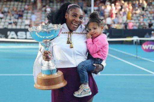Serena Williams trenowała z córką