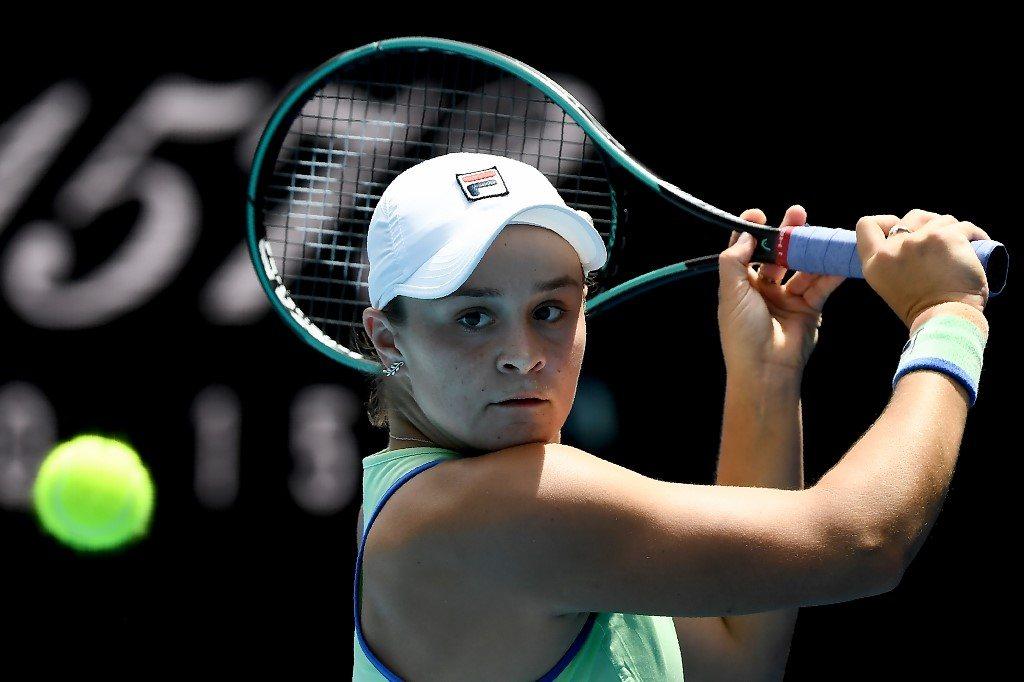 Australian Open. Barty nie pozwoliła się rozpędzić Kvitovej