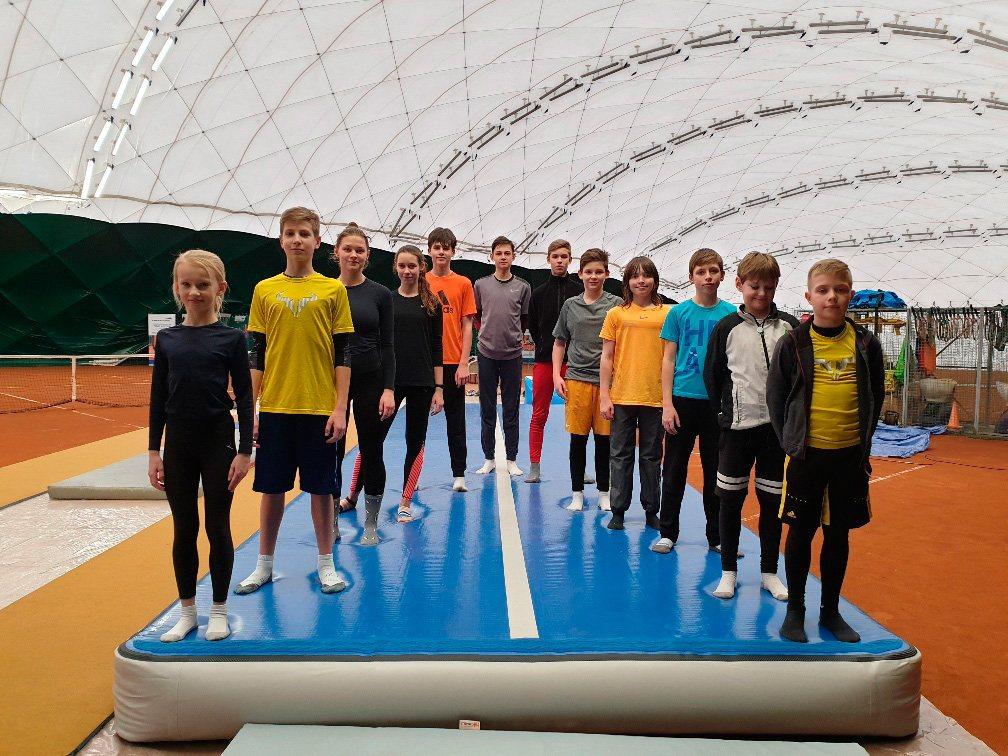 Wyczynowe Ferie Tenisowe2020 w Tenis Kozerki