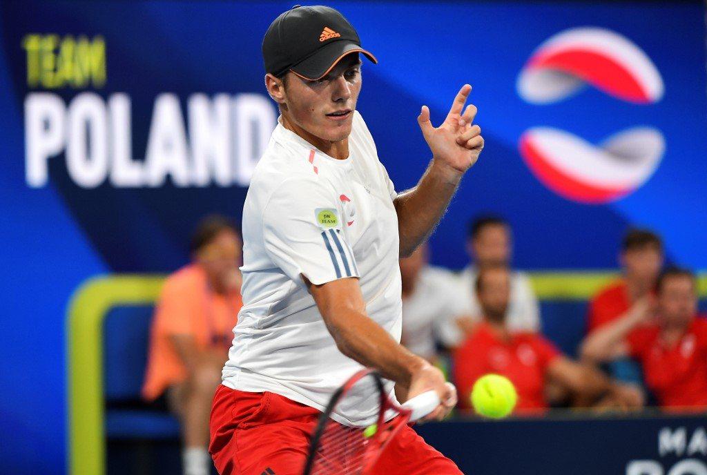 Kacper Żuk ma zadebiutować w zawodach ATP
