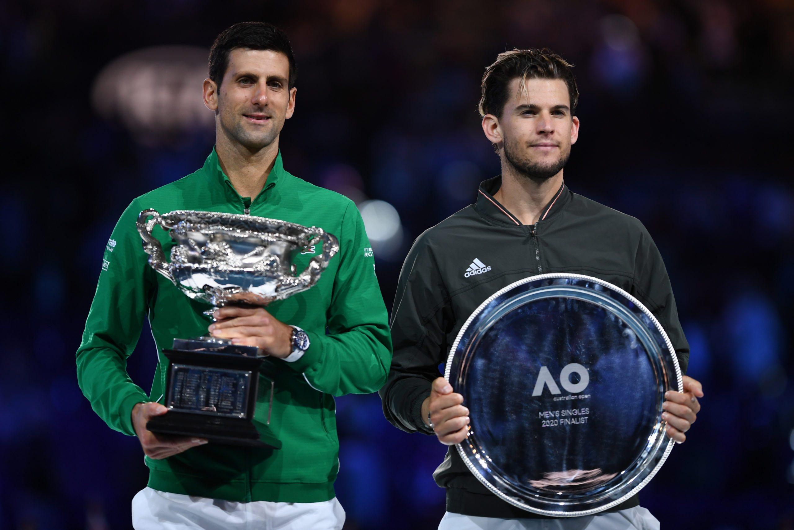 Australian Open. Mniejsze nagrody dla triumfatorów