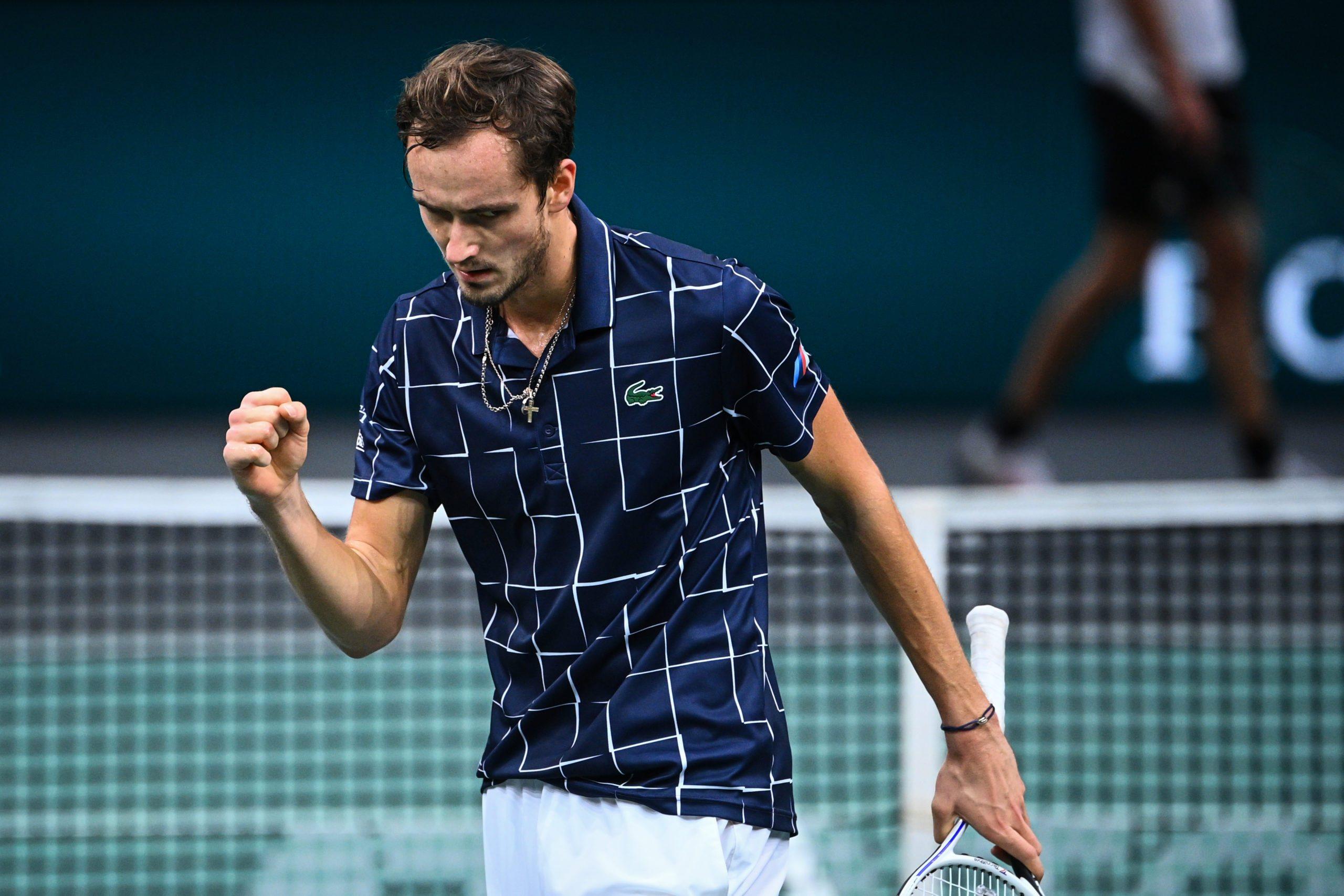ATP Finals. Premierowe zwycięstwo Miedwiediewa