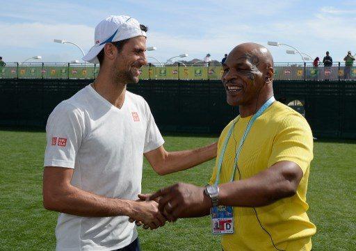 Tyson: Dżoković jest moim ulubionym tenisistą. To prawdziwy wojownik