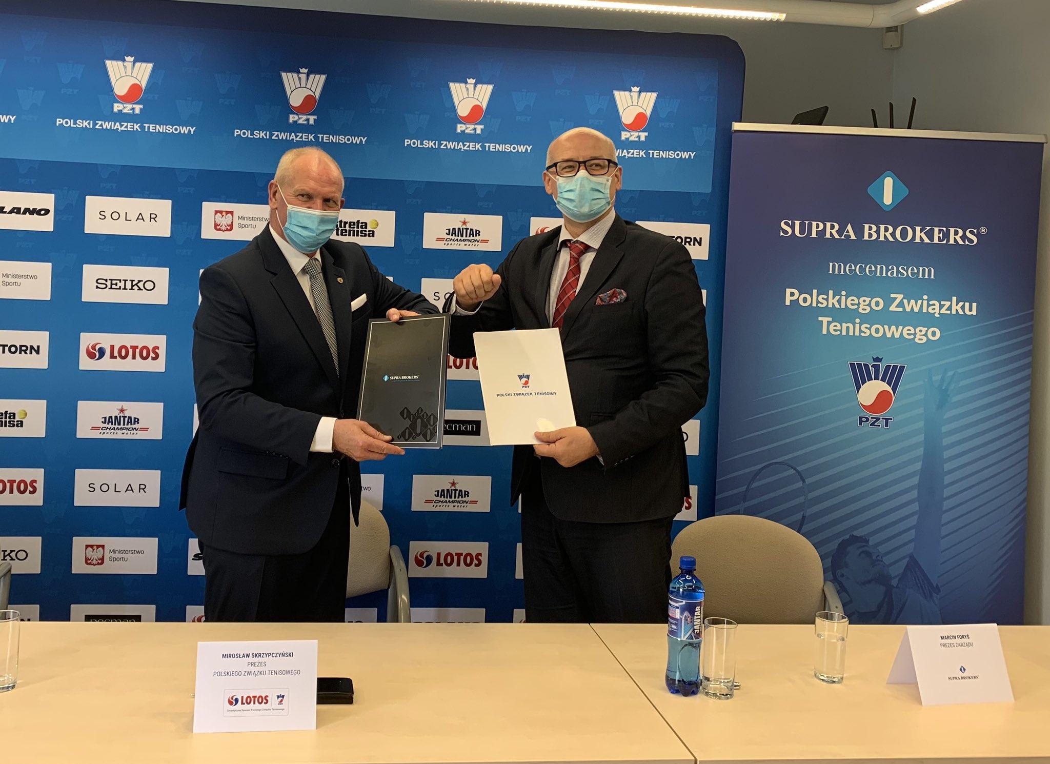 Supra Brokers SA partnerem Polskiego Związku Tenisowego