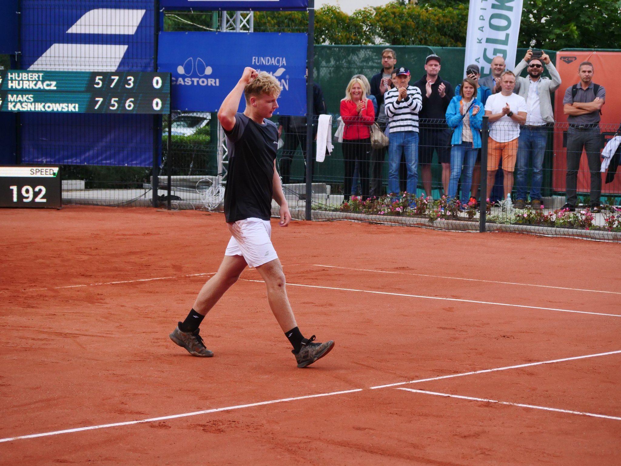 Roland Garros. Triumfator Tomaszewski Cup zatrzymał Kaśnikowskiego