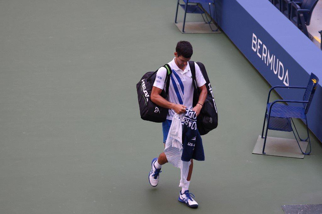 US Open. Dżoković zdyskwalifikowany