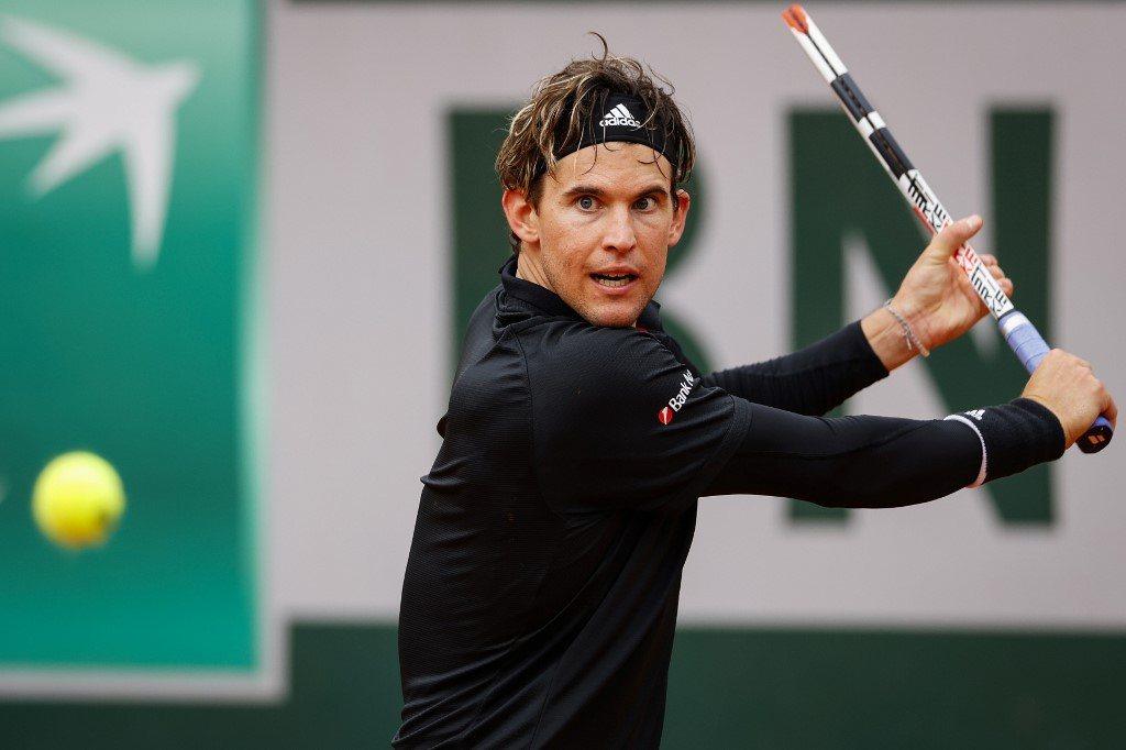 Roland Garros. Thiem jako jedyny zdążył przed deszczem