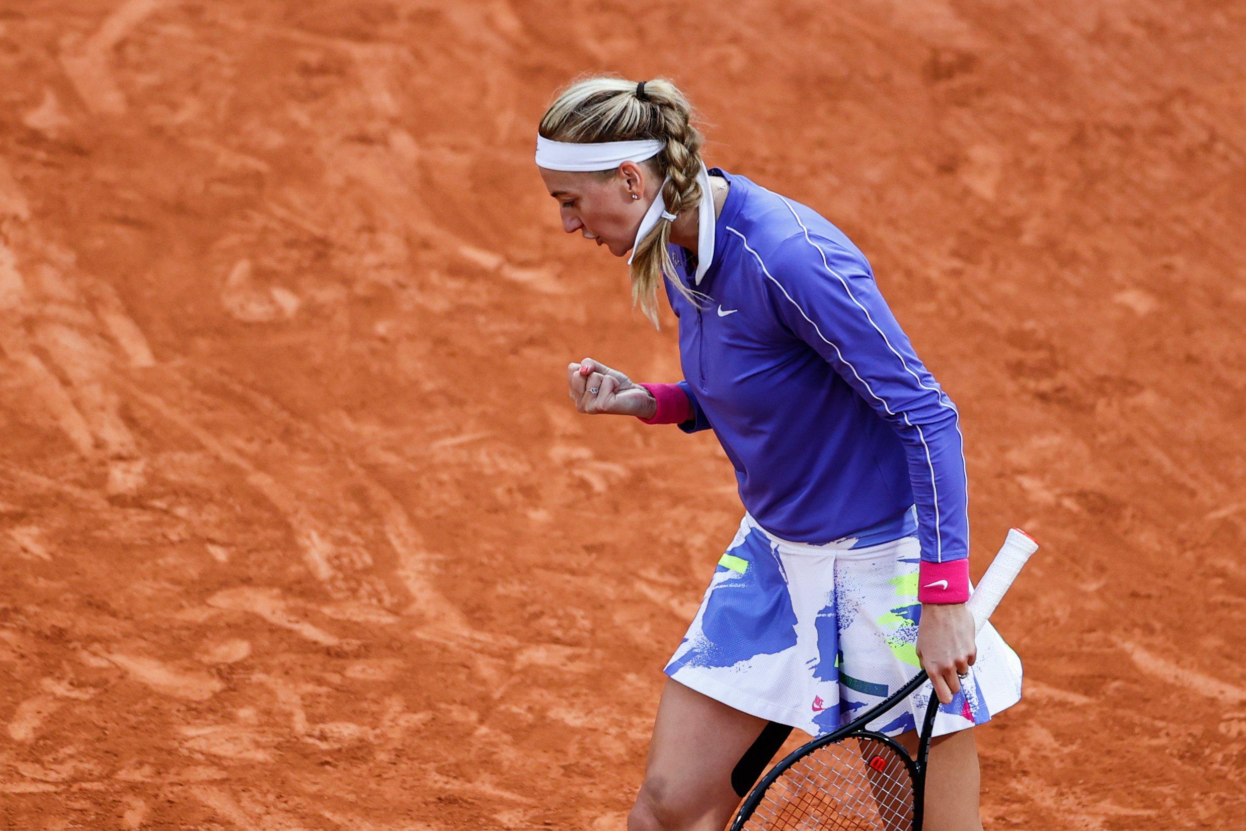 Roland Garros. Kvitova zatrzymała pogromczynię Linette