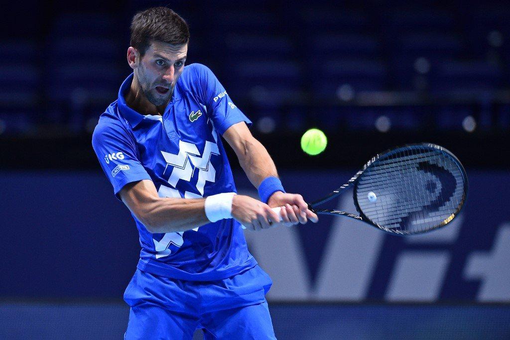 ATP Finals. Dżoković uzupełnił grono półfinalistów
