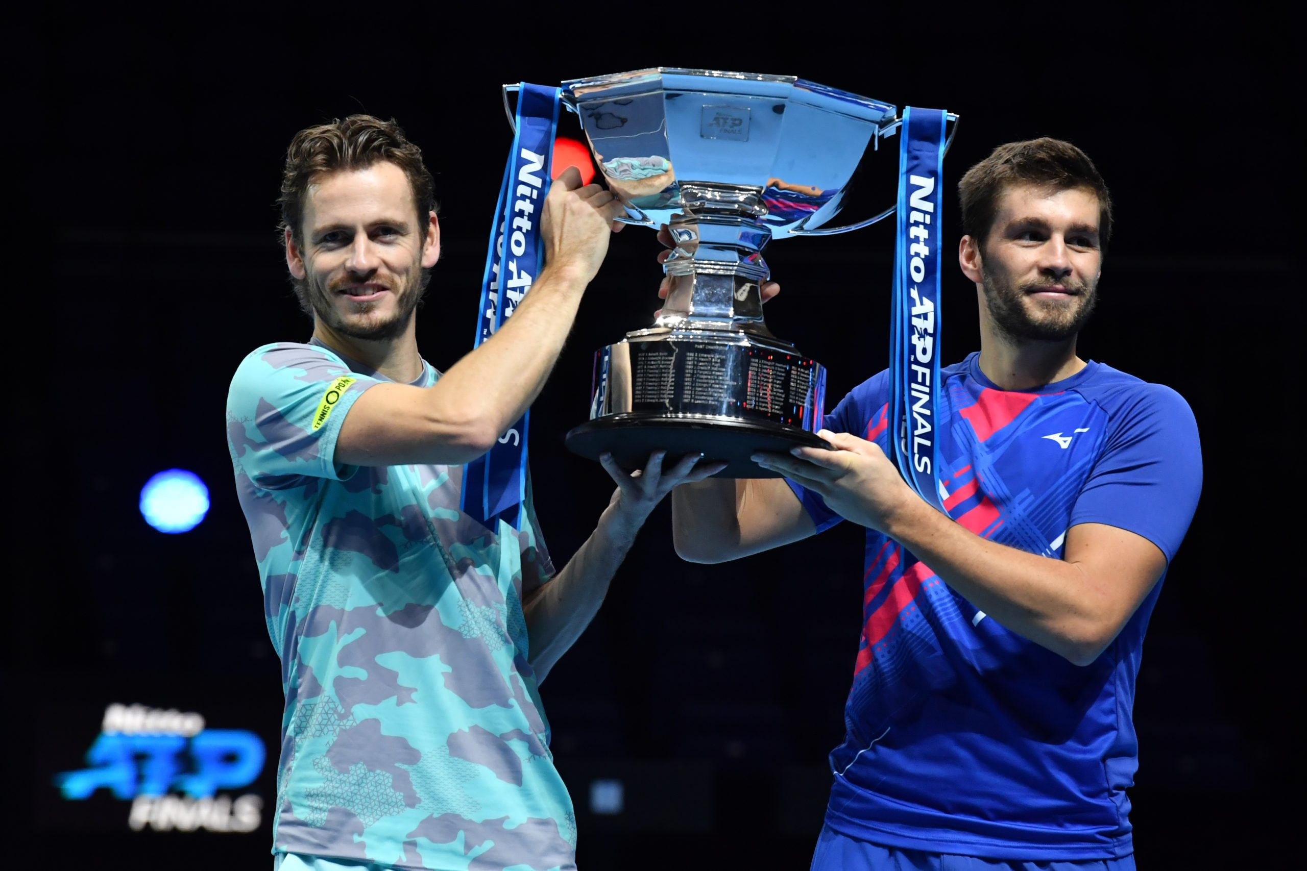 ATP Finals. Pierwszy wspólny tytuł Koolhofa i Mekticia!