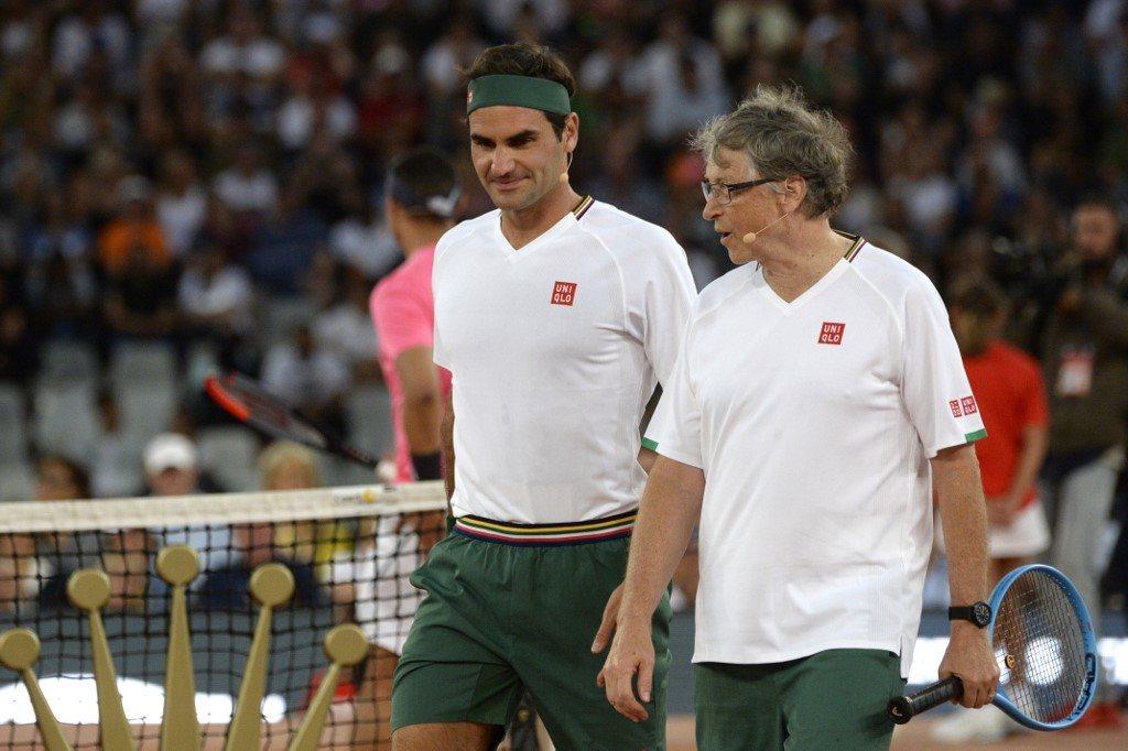 Bill Gates: ludzie powinni brać przykład z Federera