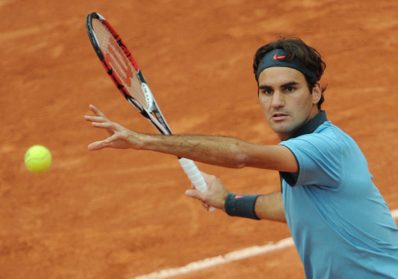 Wielkoszlemowe pamiątki Federera na aukcji