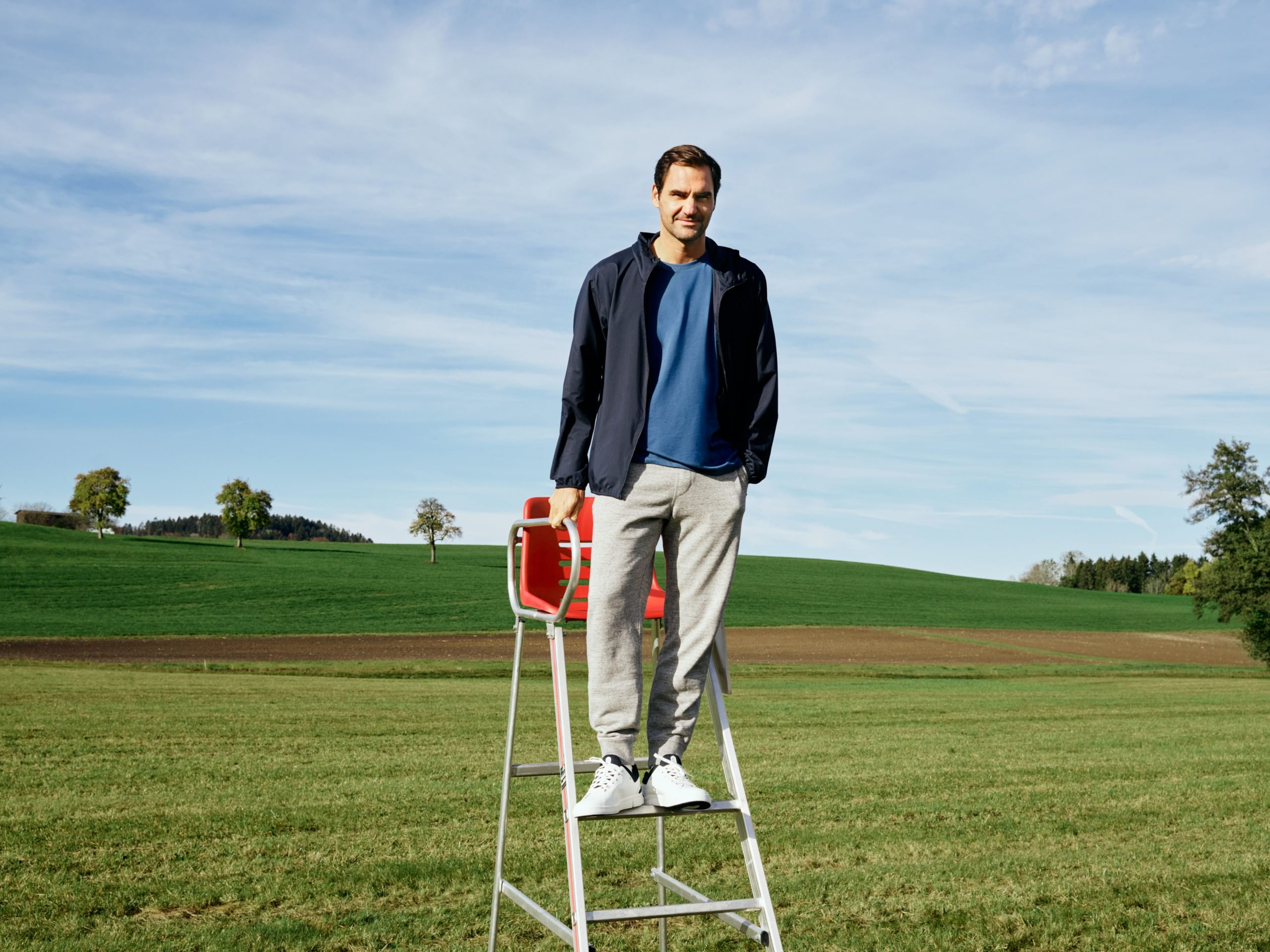 Wejdź w buty Rogera Federera