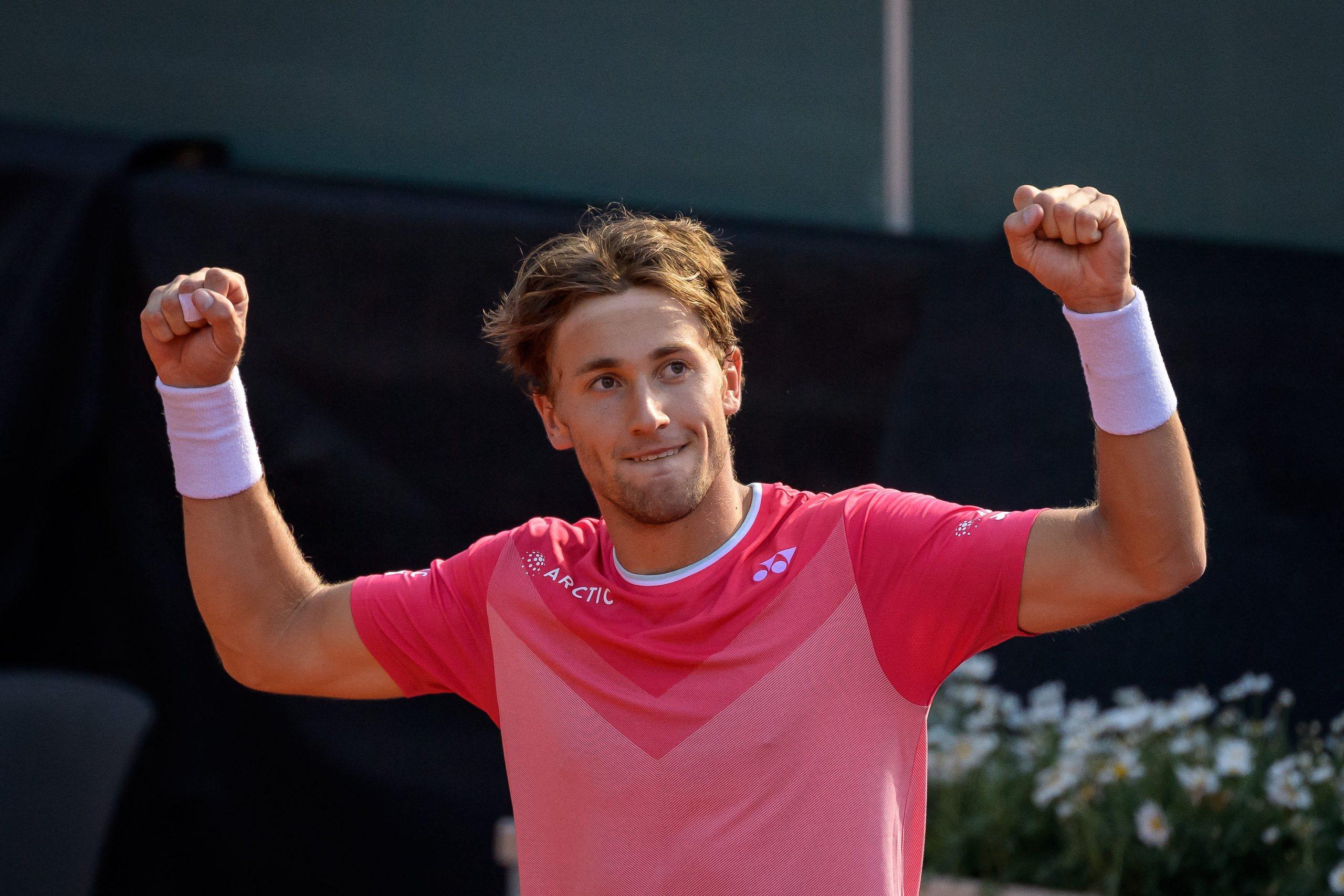 """Ranking ATP. Ruud wyrównał """"życiówkę"""", niewielki spadek Hurkacza"""