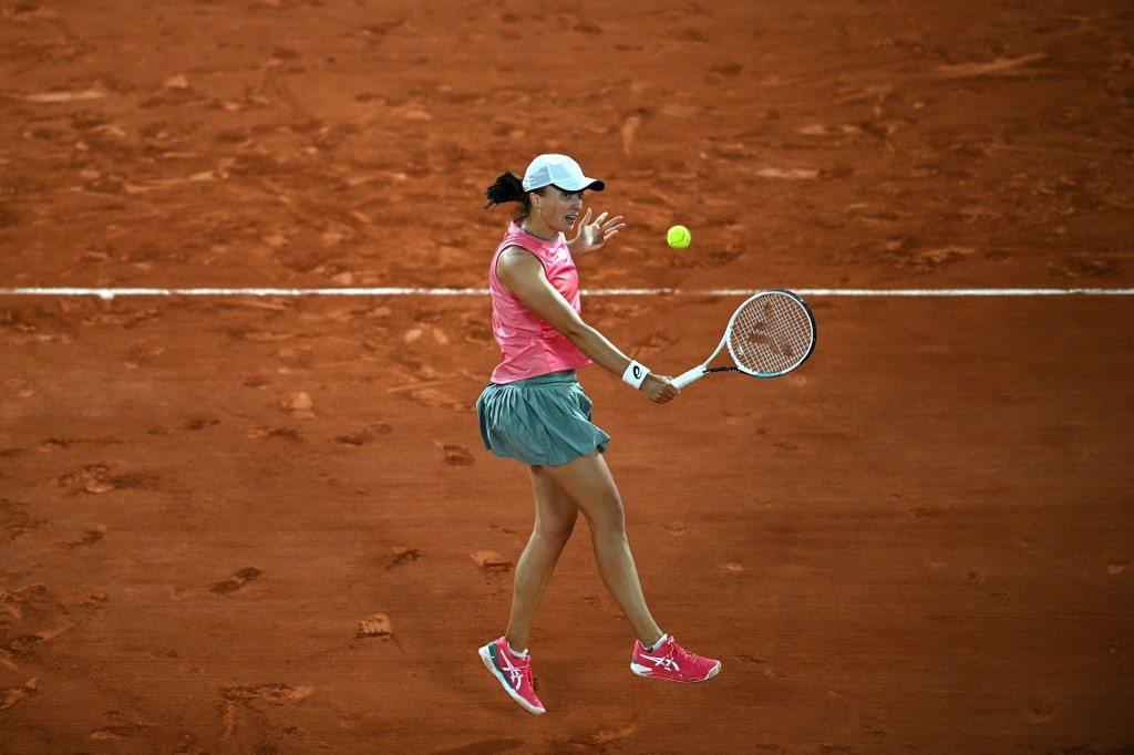Roland Garros. Świątek zatrzymała ukraińską rewelację