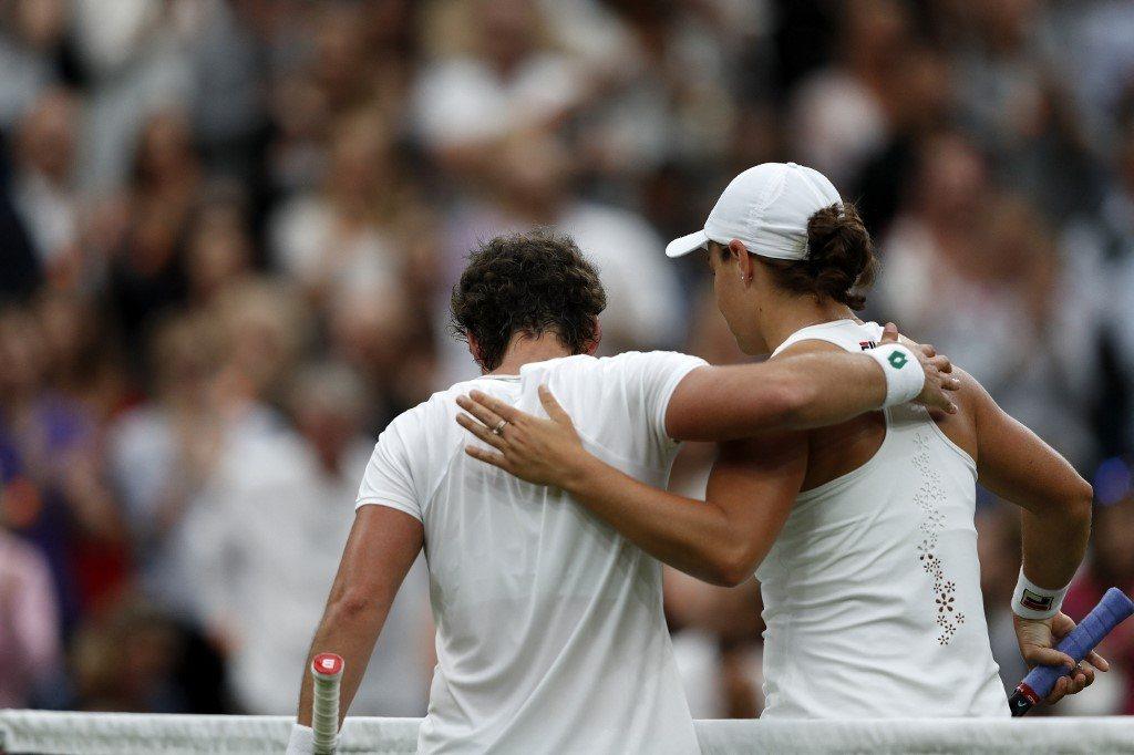 Wimbledon. Owacja na stojącą na pożegnanie