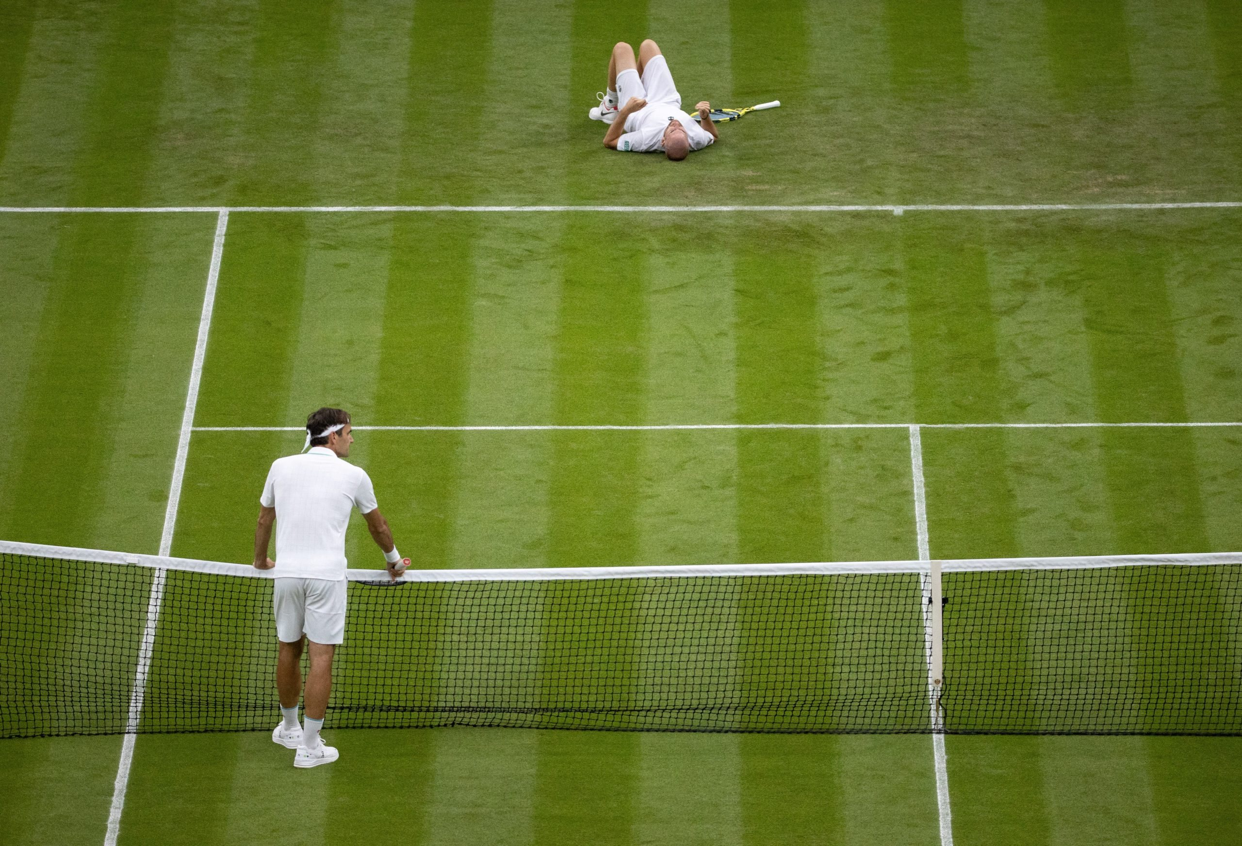 Wimbledon. Najwilgotniejsze warunki pogodowe od prawie dekady
